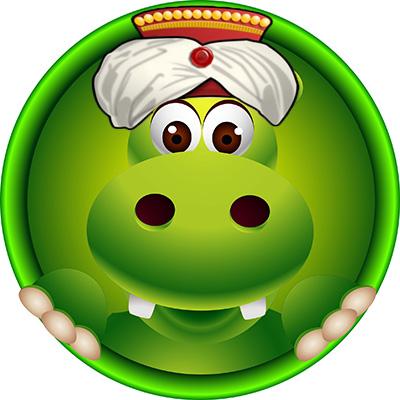 happy hippo da