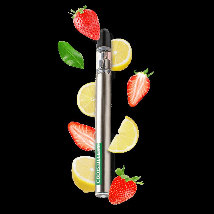 CBDistillery 200mg CBD Vape Pen Strawberry Lemonade