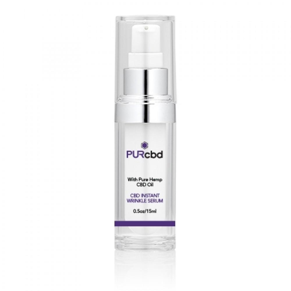 PURCBD CBD Instant Wrinkle Serum